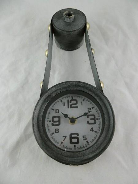 wandklok antique grijs 34 cm