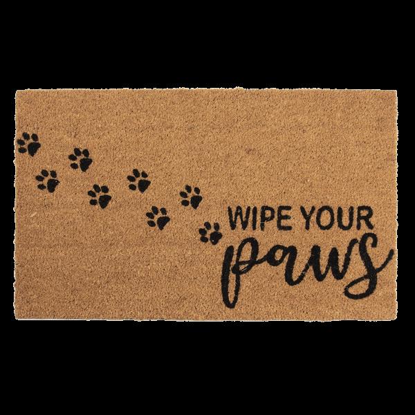 deurmat, wipe your paws