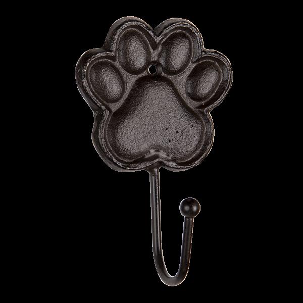 wandhaak hondenpoot
