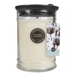 White Cotton Small Jar