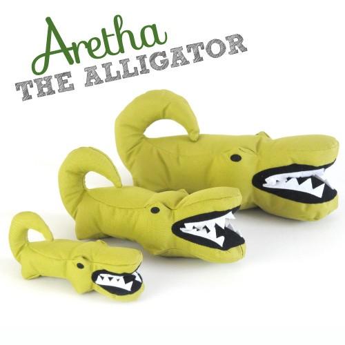Beco Plush Toy, Aretha the alligator