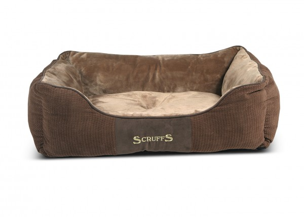 Scruffs Chester Box Bed, Chocolade Bruin