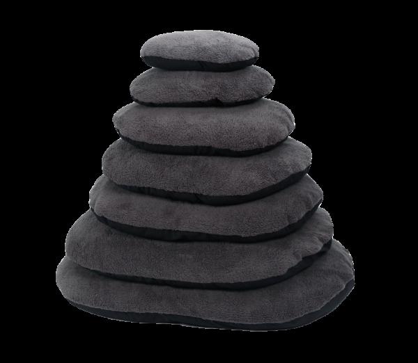 Sheep Oval Cushion, Grijs/Zwart