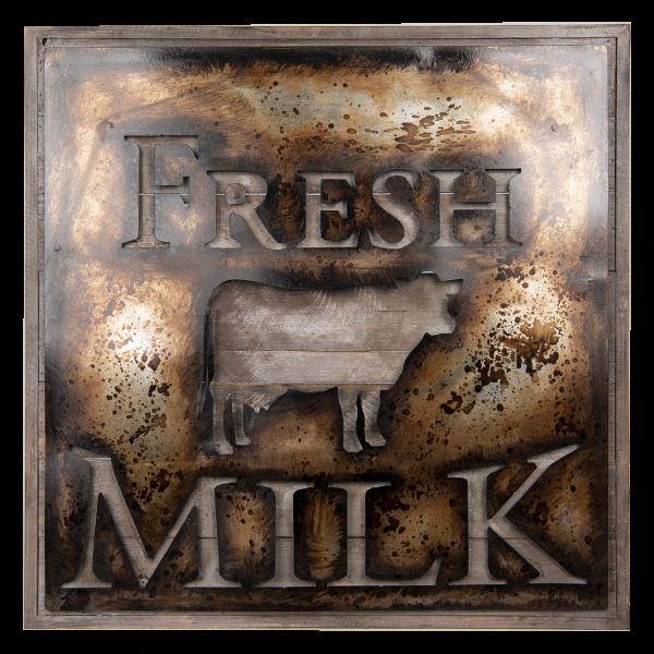 wanddecoratie fresh milk