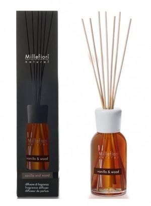 Vanilla and wood Geurstokjes 250 ml