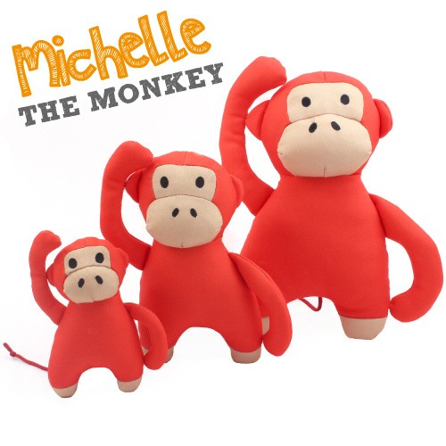 Beco Plush Toy, Michelle the monkey