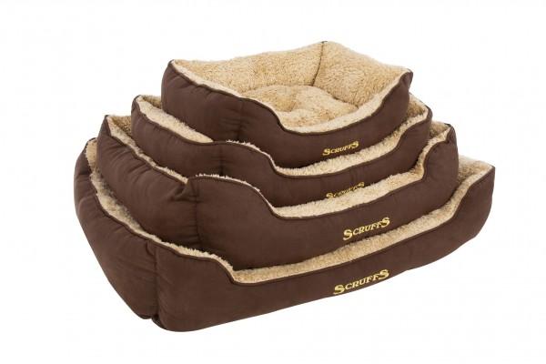 Scruffs Cosy Box Bed, chocolate