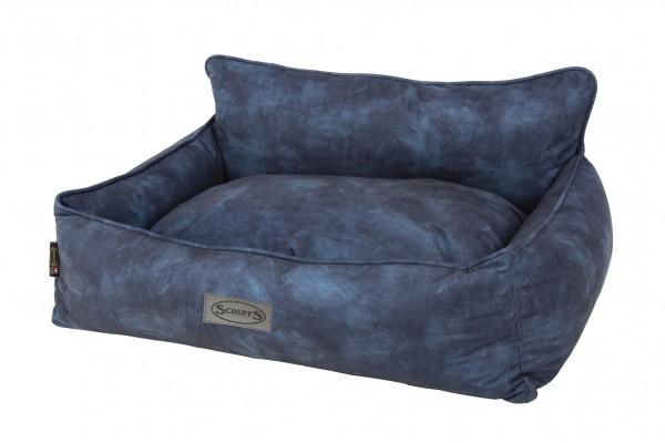 Scruffs Kensington Box Bed, Blauw