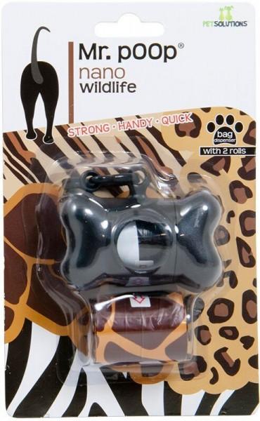 Mr.Poop wildlife poepzakjeshouder