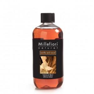 Vanilla and wood Refill voor geurstokjes 500 ml