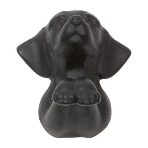 haak hond, zwart