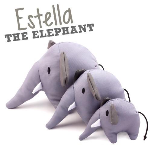 Beco Plush Toy, Estella the elephant