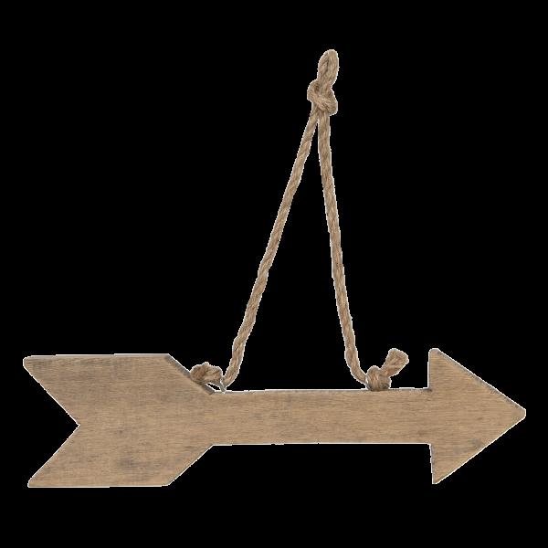 houten pijl