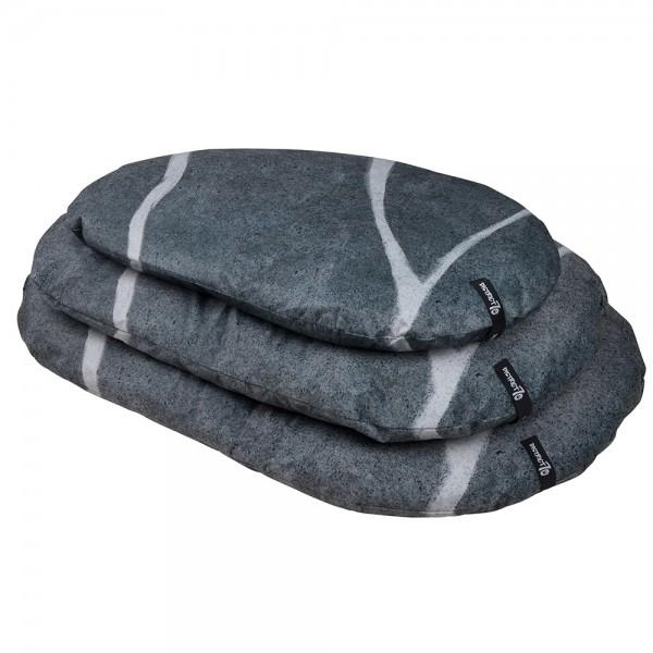 Pebble Hondenkussen, Donker grijs
