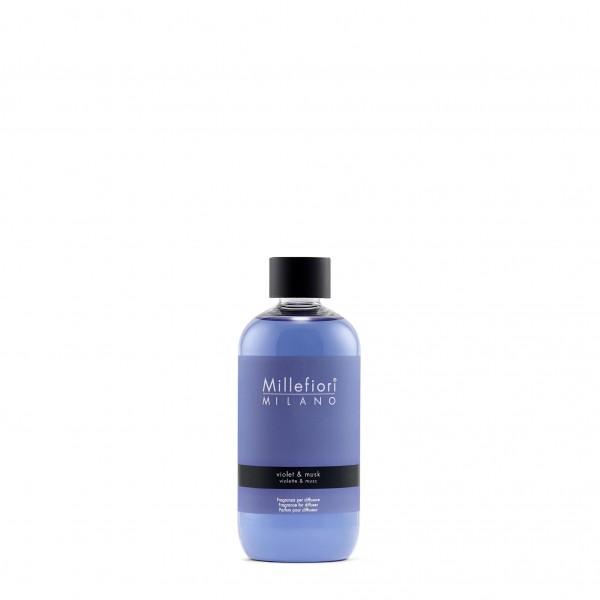 Violet & Musk Refill voor geurstokjes 250 ml