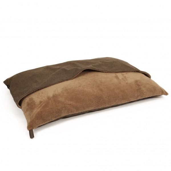 Herringbone Pillowbag, Bruin/Zwart