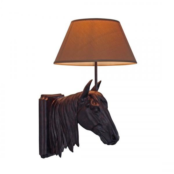 Wandlamp paard