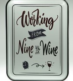 working nine to wine